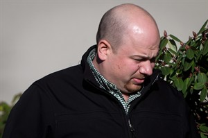 Robert MacKay arrives at Provincial Court in Vancouver, B.C., on Tuesday February 4, 2014. THE CANADIAN PRESS/Darryl Dyck