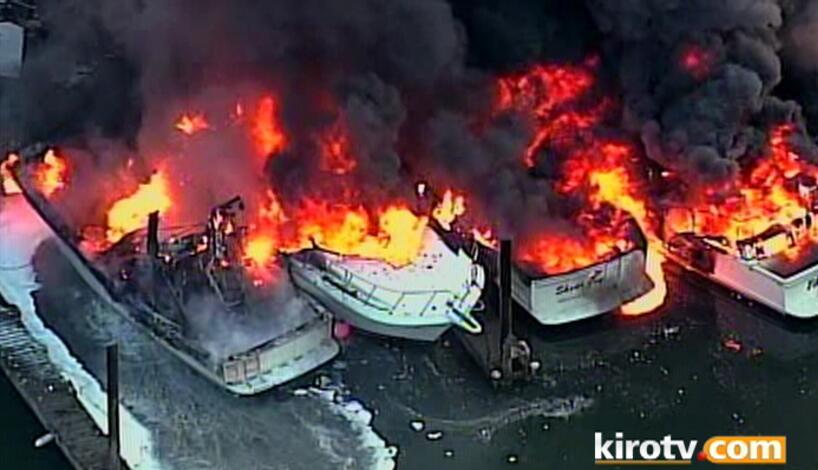 Boat fire Shelter