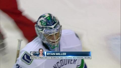 Miller saves 23 as Canucks edge Panthers