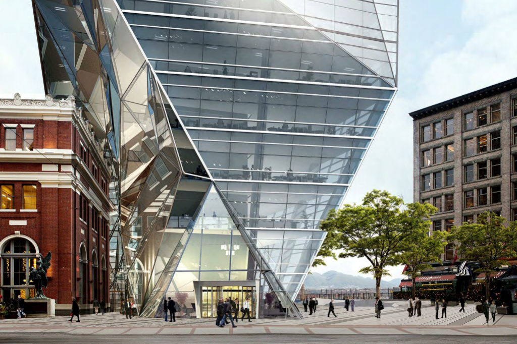 City of Vancouver rejects building many had panned as the 'origami tower'  in Gastown