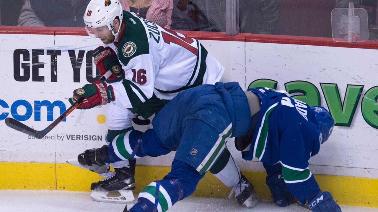 Dubnyk backstops Wild to win over Canucks