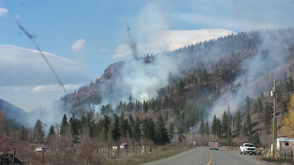 Merritt wildfire