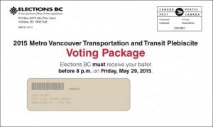 transportation plebisicte ballot