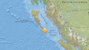 haida gwaii earthquake