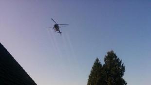 Gypsy moth spraying in Cloverdale (April 18/15)