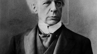 "A photo of former Canadian prime minister Sir Wilfrid Laurier is shown after being processed through the website ""How Old Do I Look."" People who upload photos of their faces to the new How Old Do I Look website are giving Microsoft the right to use the pictures for nearly any purpose, despite the company's promise not to retain them, privacy experts say.THE CANADIAN PRESS/HO"