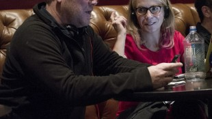 """This image released by Bravo shows executive producer Robert Duncan McNeill, left, and Marti Noxon writer-producer of """"The Girlfriends Guide to Divorce."""" Showrunners, formally known as executive producers, generally arise from the ranks of writers. Although women are underrepresented as TV writers _ holding less than a third of cable and broadcast jobs, according to the latest Writers Guild of America study _ the ones who rise to the top can pull other women along. (Carole Segal/Bravo via AP)"""