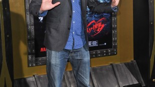 """Tom Green arrives at the LA Premiere of """"300: Rise of an Empire"""" in Los Angeles on March 4, 2014. THE CANADIAN PRESS/AP, Invision - Richard Shotwell"""