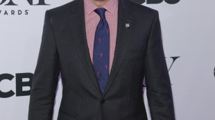 """FILE - In this April 29, 2015 file photo, Brian d'Arcy James attends the 2015 Tony Awards Meet The Nominees Press Junket at The Paramount Hotel in New York. James throws some serious shade at William Shakespeare in the Tony-nominated musical, """"Something Rotten."""" Playing the great bard's fictional adversary in the 16th Century farce has earned James his third Tony nomination. But unlike his character, Nick Bottom, win or lose, James already feels victorious. (Photo by Andy Kropa/Invision/AP, File)"""