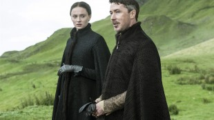 """FILE - In this file image released by HBO, Sophie Turner, as Sansa Stark, left, and Aidan Gillen, as Petyr """"Littlefinger"""" Baelish, appear in a scene from the HBO original series, """"Game of Thrones."""" HBO Now, the premium channel's new online service for people who don't pay for cable, will be available through Android devices this summer. (AP Photo/HBO, File)"""