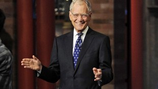"""In this image released by CBS, David Letterman appears during a taping of his final """"Late Show with David Letterman,"""" Wednesday, May 20, 2015 at the Ed Sullivan Theater in New York. Rogers and Shaw say they're sorry after cutting away from David Letterman's final show as he bid farewell last week. THE CANADIAN PRESS/AP-Jeffrey R. Staab/CBS"""