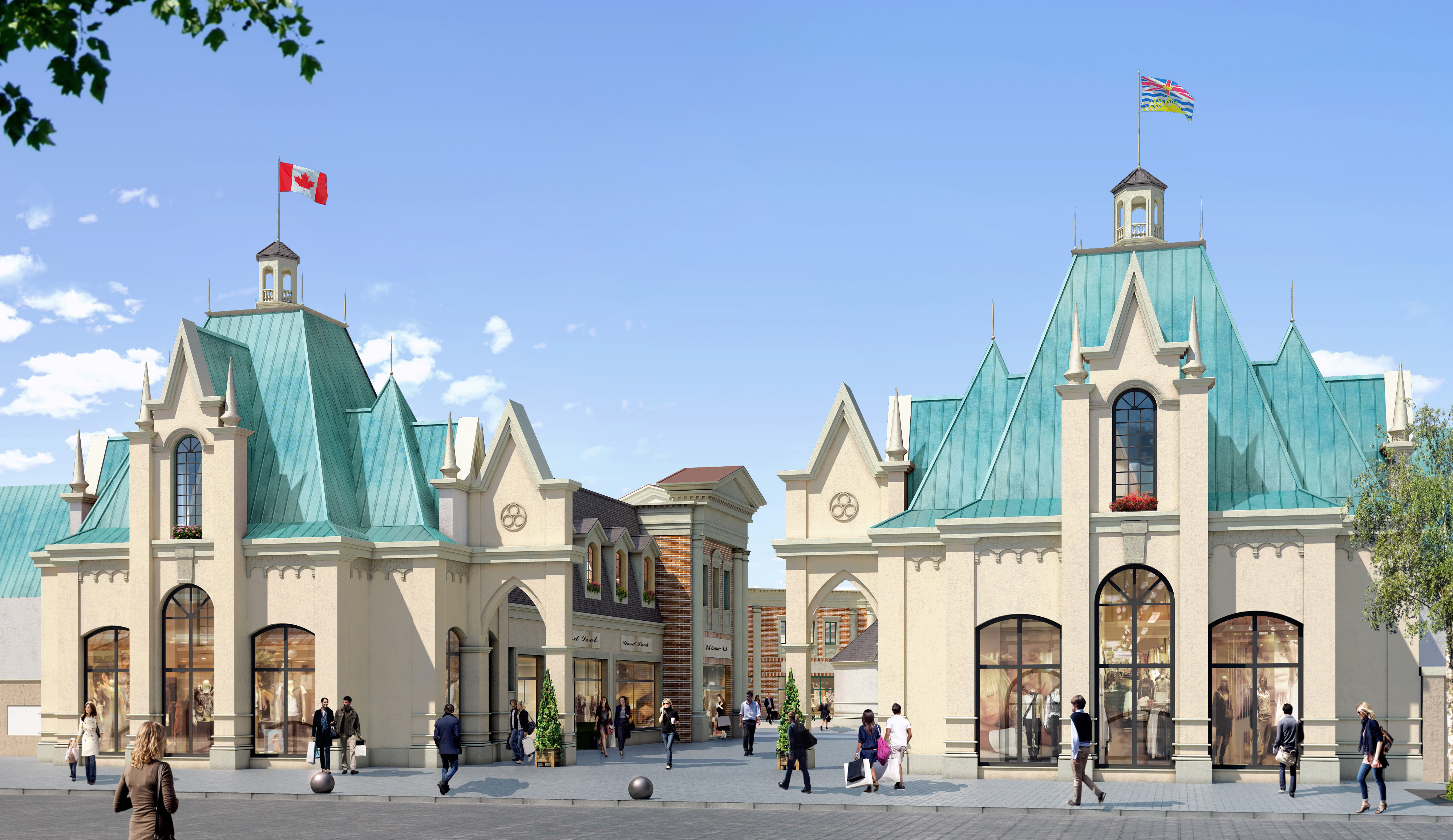 New luxury shopping centre near yvr holds job fair news 1130 for Last design outlet