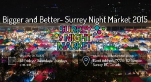 Surrey Night Market @ Cloverdale Exhibition Grounds | Surrey | British Columbia | Canada