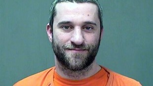 """FILE - This Dec. 26, 2014 file photo provided by the Ozaukee County, Wis., Sheriff shows Dustin Diamond. Diamond, the actor who played Screech in the 1990s TV show """"Saved by the Bell,"""" is accused of stabbing a man during a Christmas Day bar fight in southeastern Wisconsin. (Ozaukee County Sheriff via AP, File)"""