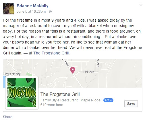 Facebook Brianne McNally