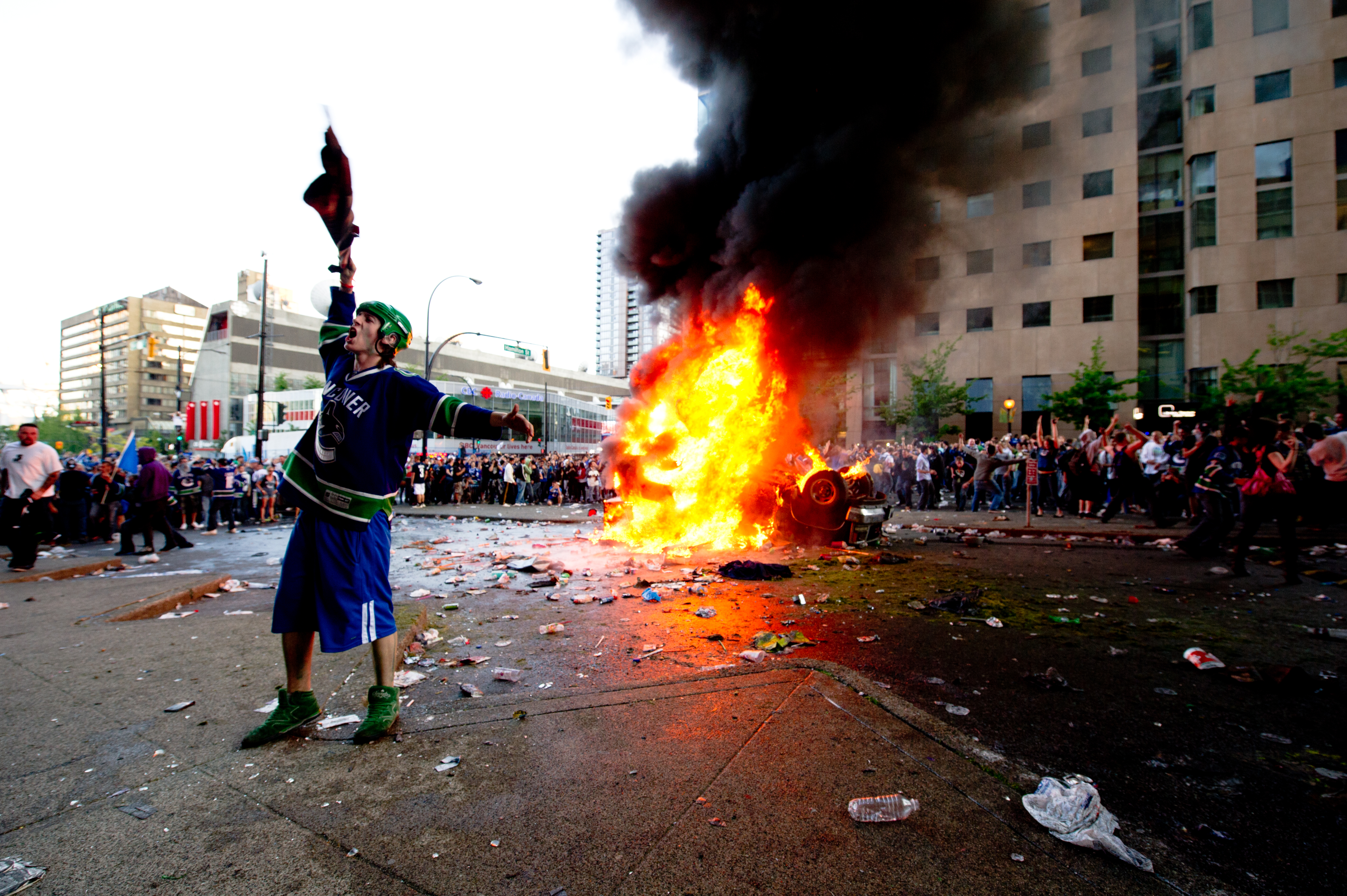 What sentences do the rioters get?