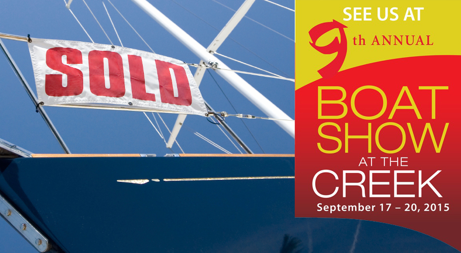 Win a pair of tickets to the Boat Show at the Creek!
