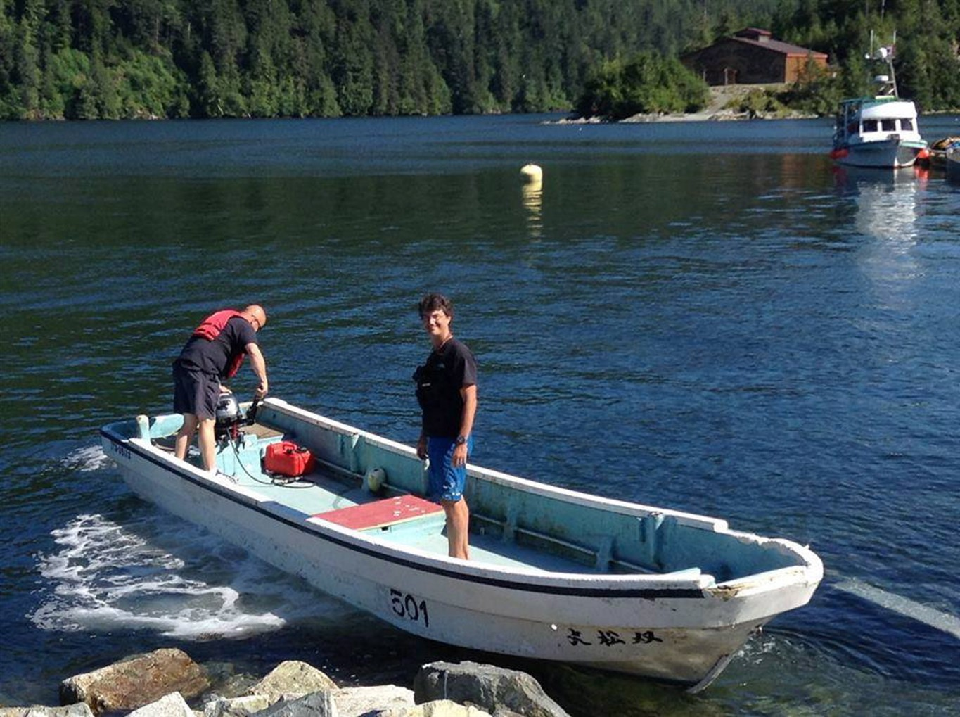 Japanese man visits bc to reunite with boat lost in 2011 for Japanese fishing boat