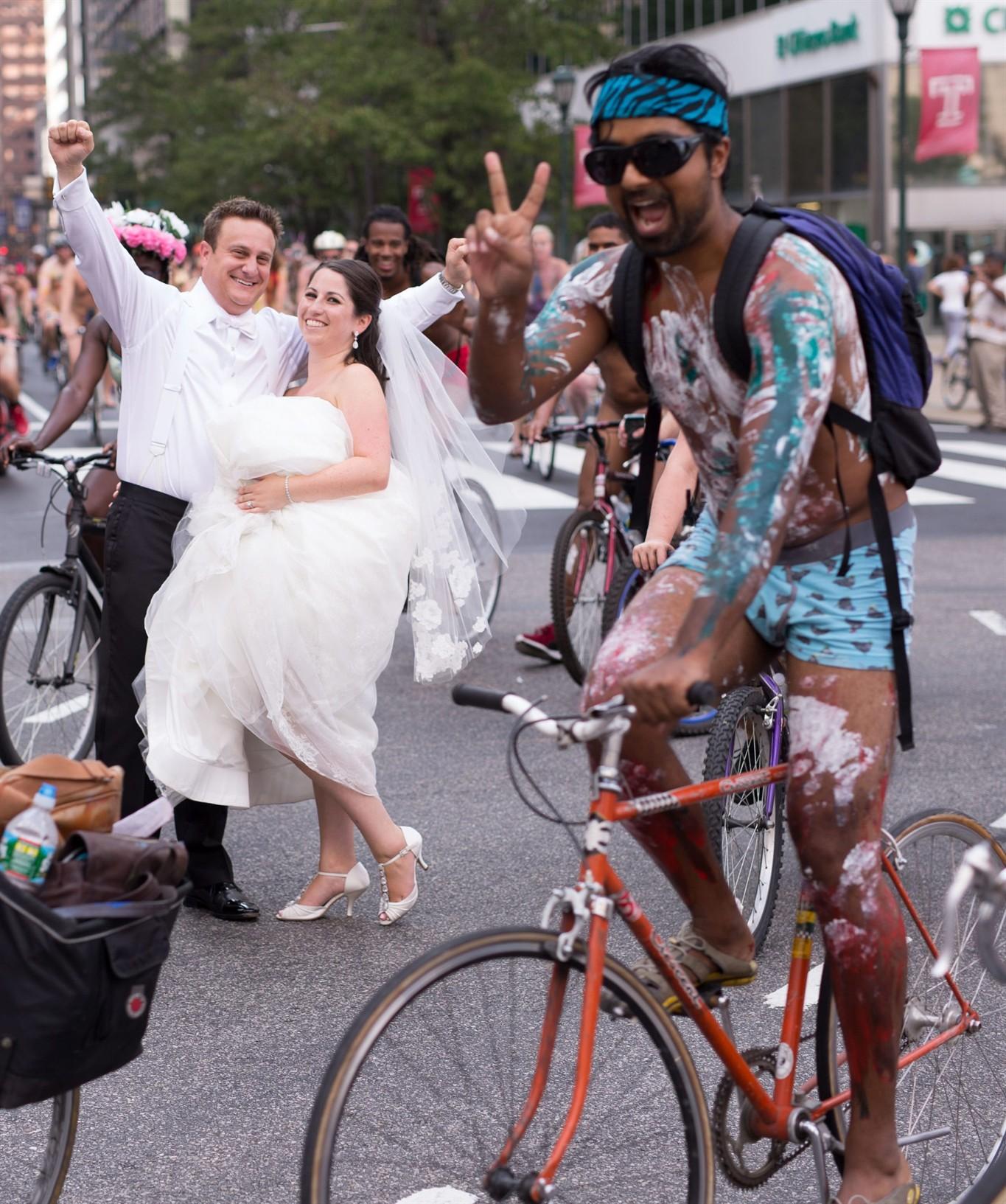 riders inphila bike naked