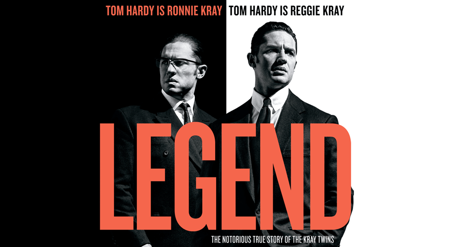 Trade your points to win two tickets to the advance screening of LEGEND, starring Tom Hardy