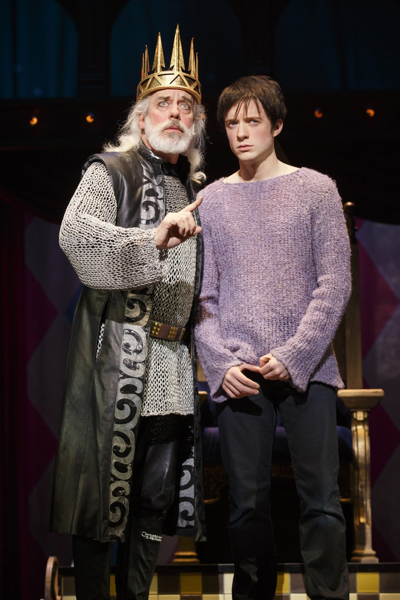 Terrence Mann Beast >> Tony Nominee Terrence Mann To Enter Finding Neverland As