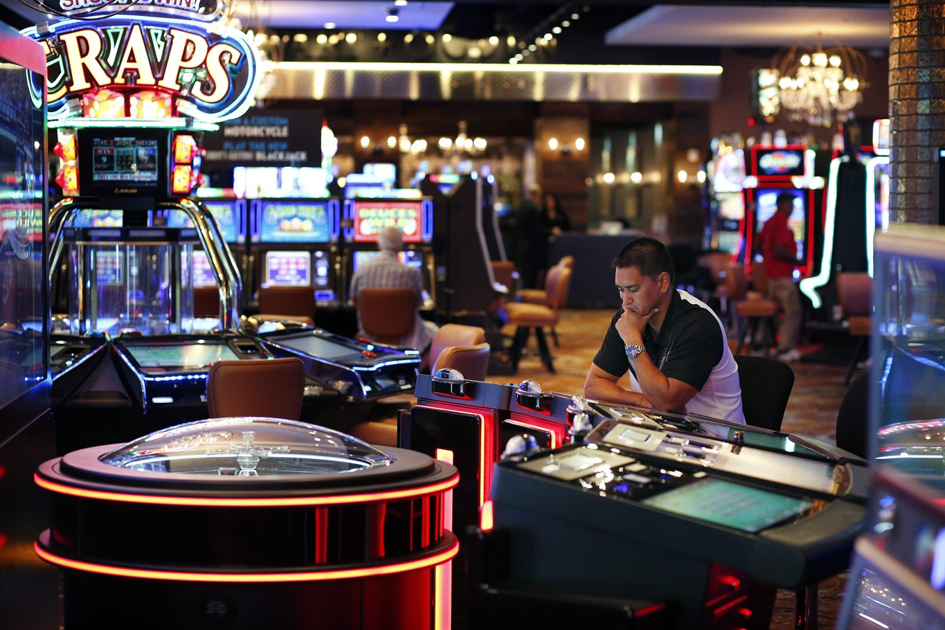 Hotel and gambling industry casino in ac