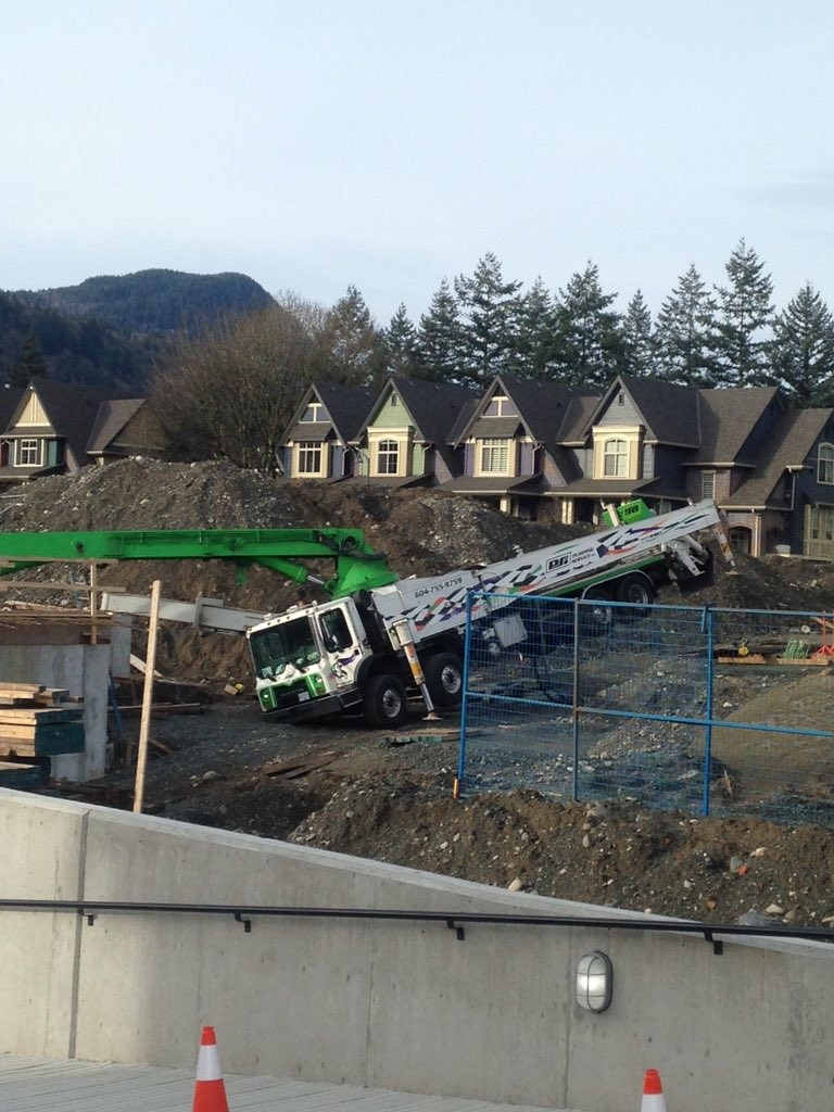 Chilliwack construction accident