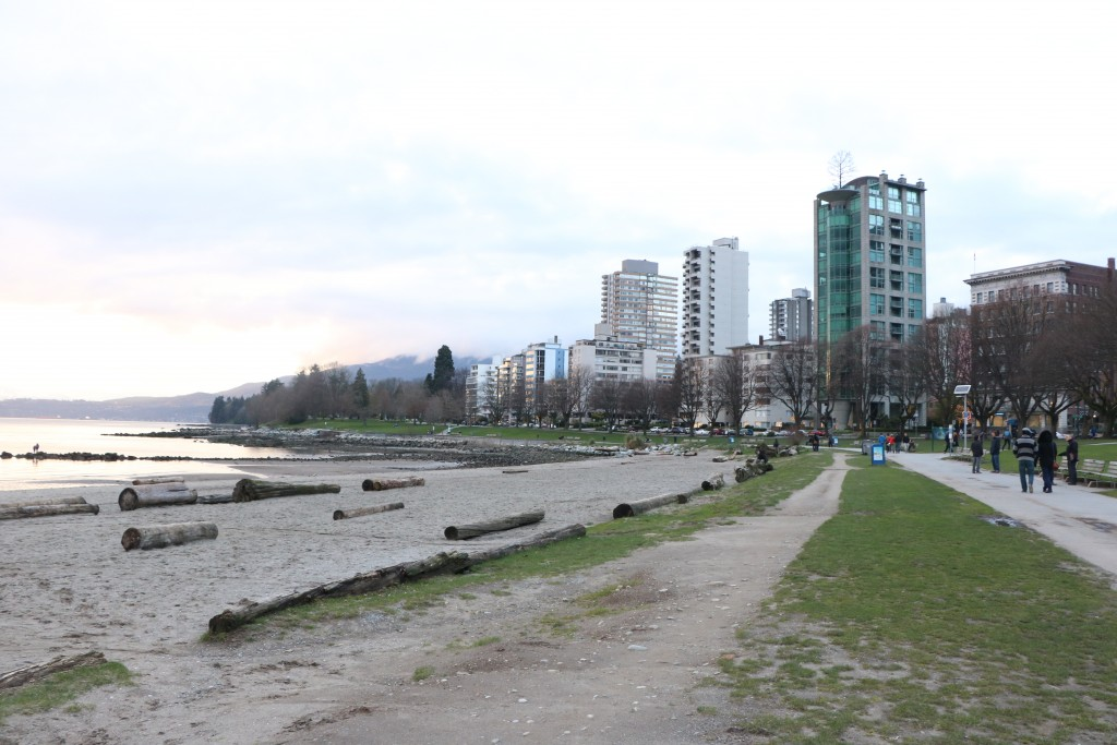 100 volunteers bring holiday twist to English Bay beach cleanup