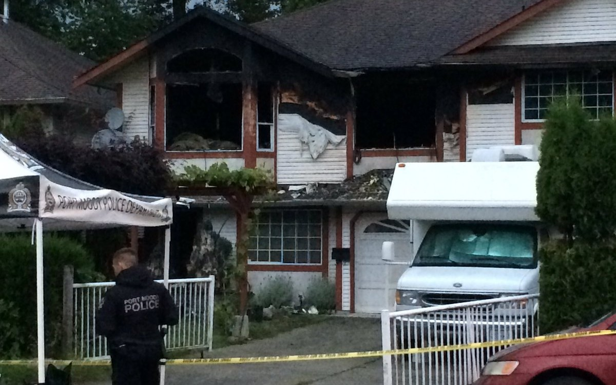 Port Moody Family Hoping To Rebuild Fire Damaged Home Through Crowd Sourcing