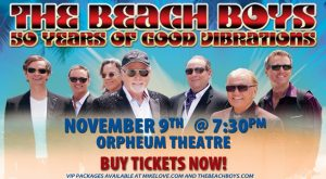 The Beach Boys 50 Years of Good Vibrations @ Orpheum Theatre   Vancouver   British Columbia   Canada