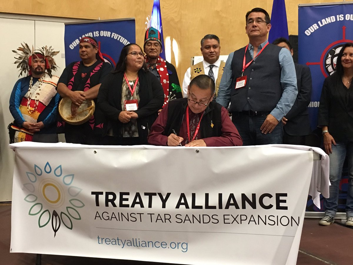 Dozens Of U.S., Canadian Tribes Unite Against Proposed Oil Pipelines