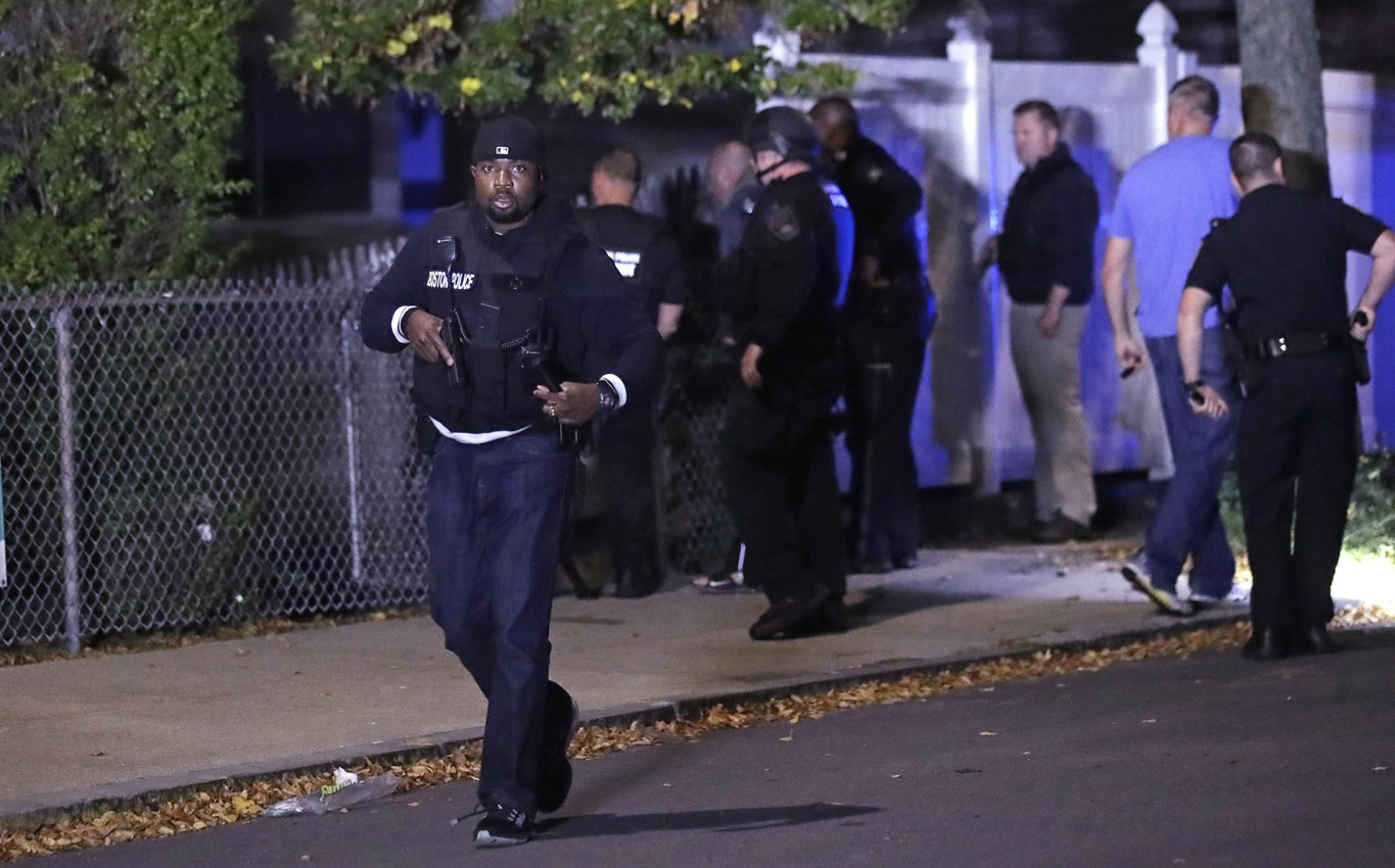 Suspect dead after officer-involved shooting in Boston