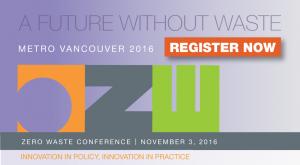 Zero Waste Conference @ Vancouver Convention Centre   Vancouver   British Columbia   Canada