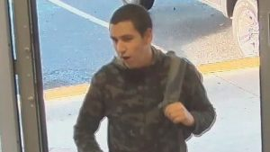 Homicide investigators release an image of Gabriel Klein taken just hours before the attack at Abbotsford Senior Secondary School.