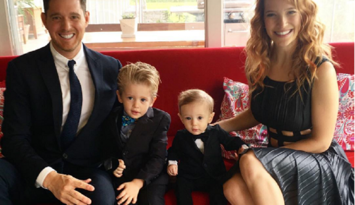 Michael Buble announces 3-year-old son diagnosed with cancer
