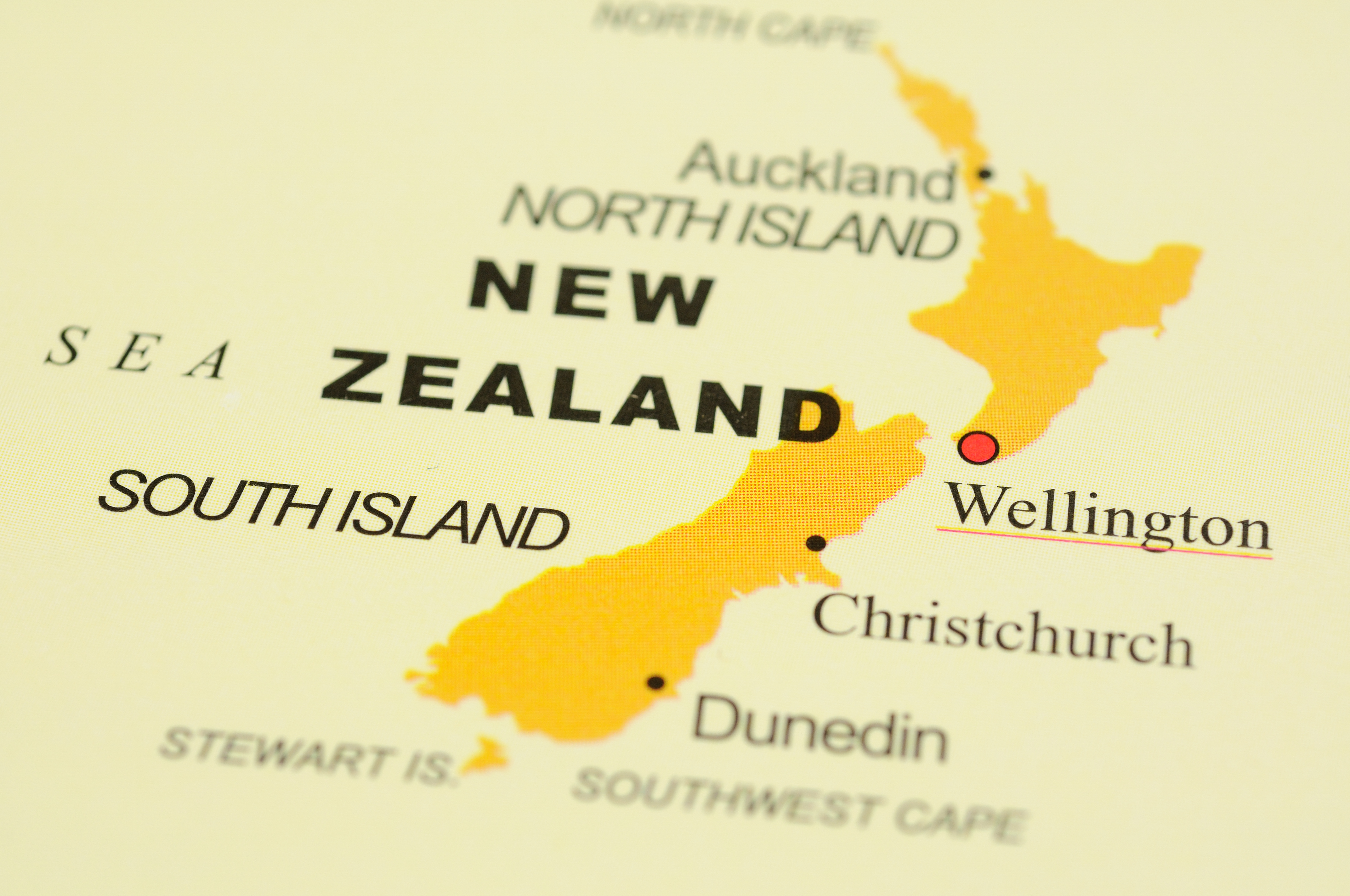 Powerful quake rattles parts of New Zealand Sunday