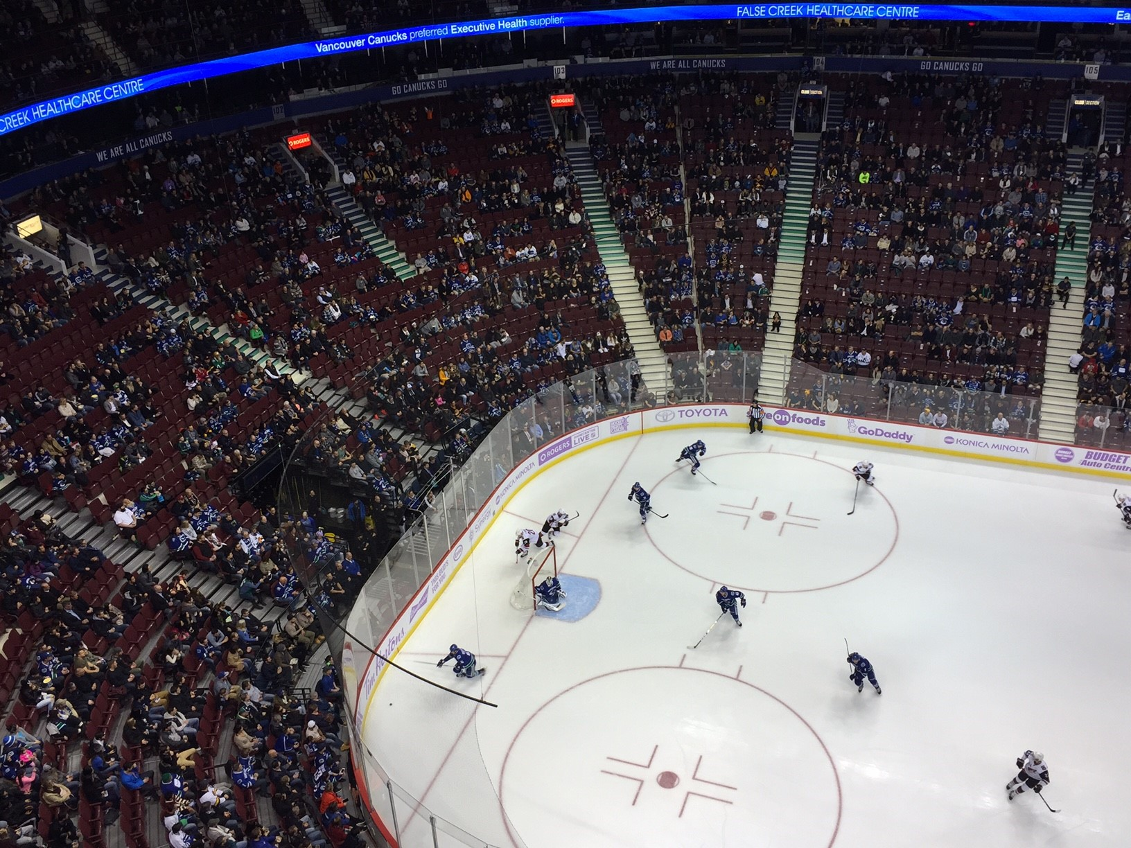Brokers claim Canucks ticket sales up compared to last season
