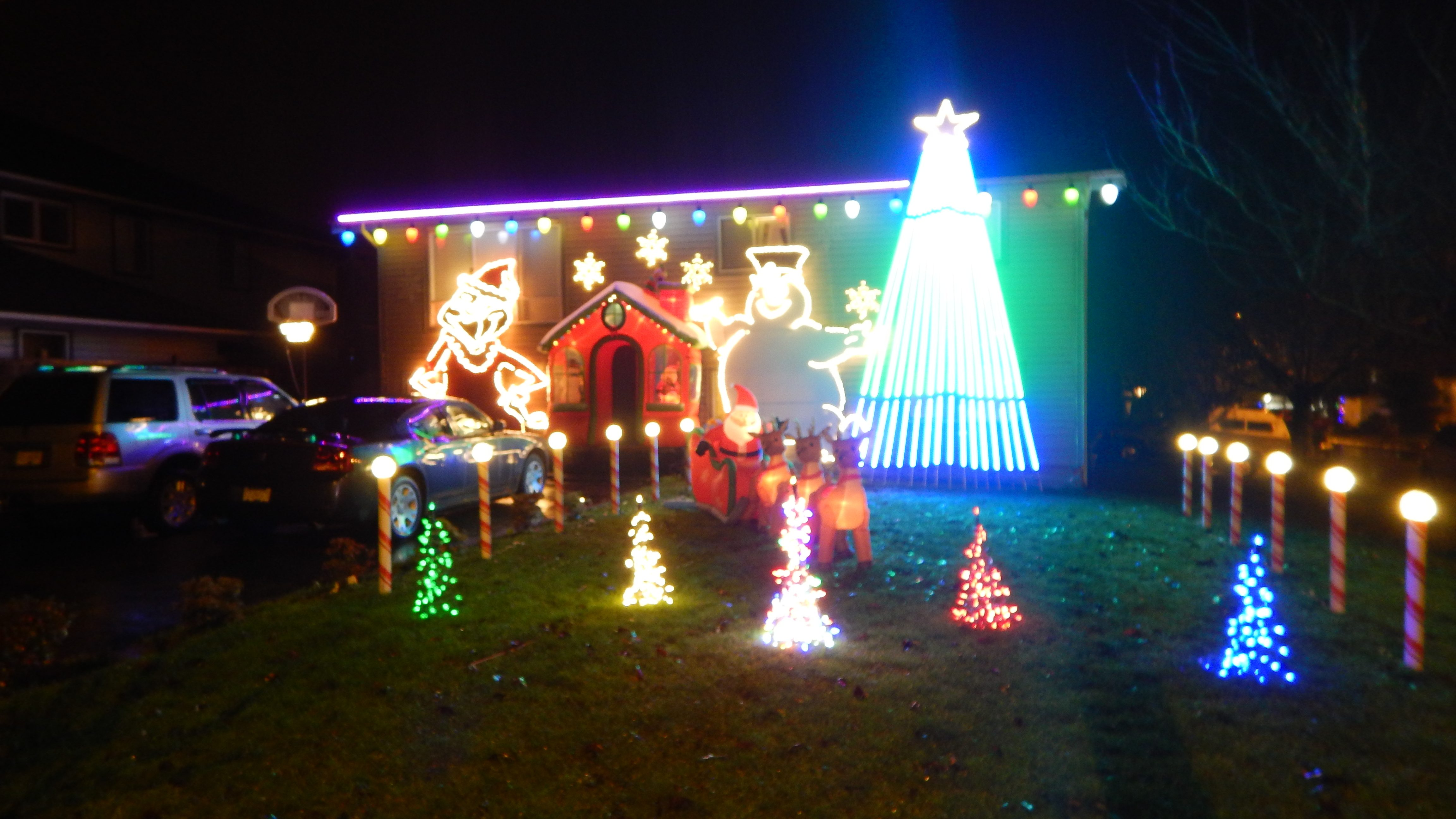 christmaswinter events - Computer Controlled Christmas Lights