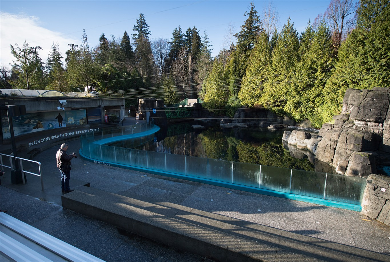 Fish aquarium vancouver - The Tank Where Beluga Whales Aurora And Qila Were Kept Is Seen At The Vancouver Aquarium In Vancouver B C On Monday November 28 2016