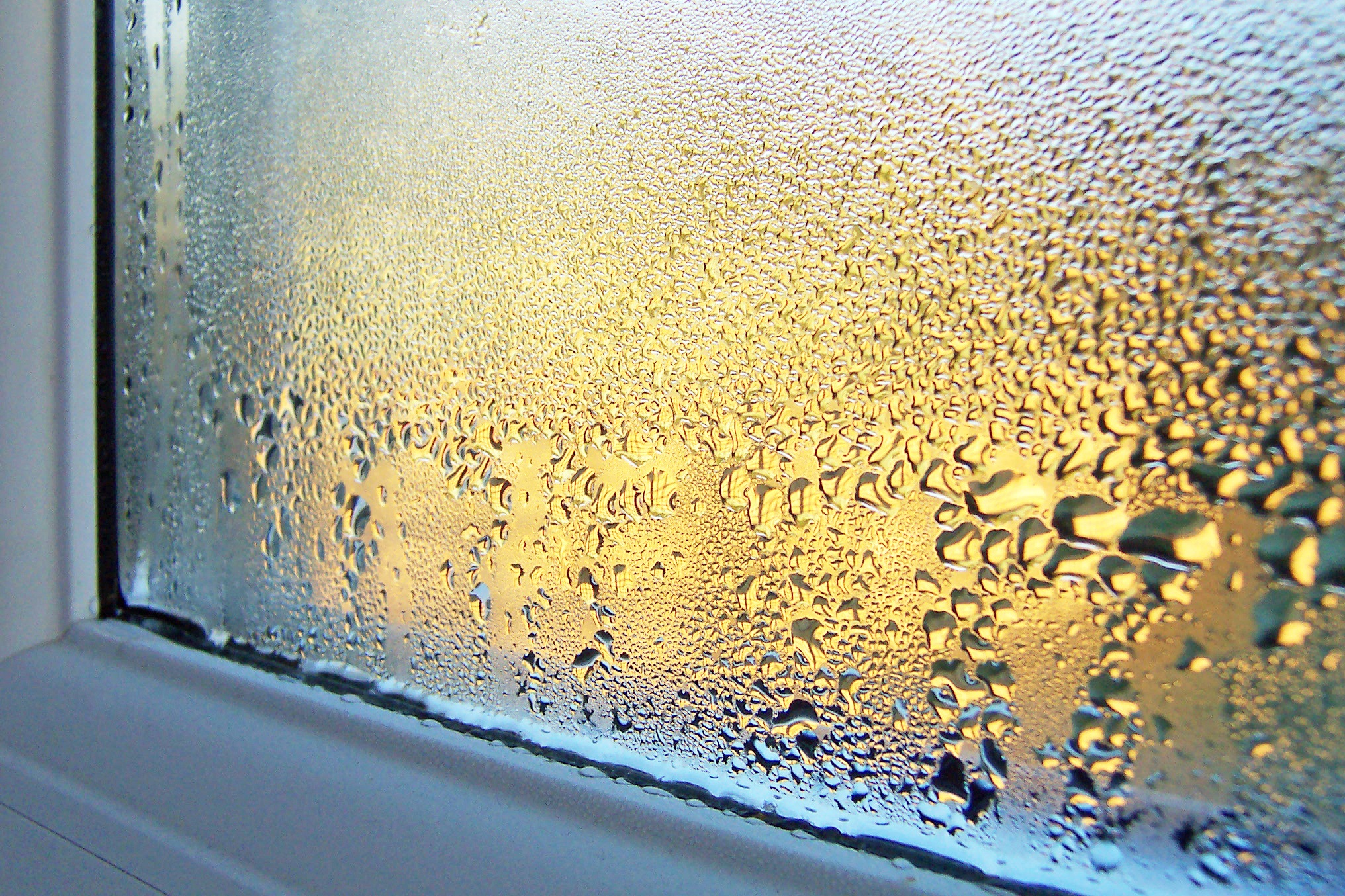 how to get rid of condensation on windows in winter