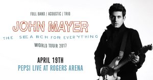 John Mayer @ Rogers Arena | Vancouver | British Columbia | Canada