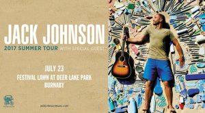 Jack Johnson @ Festival Lawn at Deer Lake Park | Burnaby | British Columbia | Canada