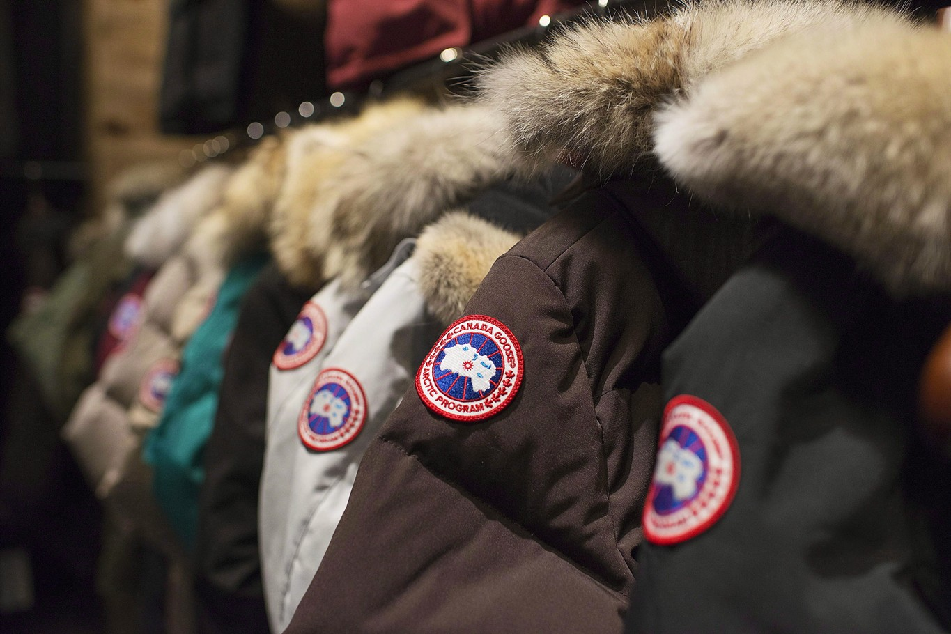 Canada goose files for public offering on toronto and new york jackets are on display at the canada goose inc showroom in toronto on thursday november 28 2013 luxury winter jacket maker canada goose has filed for biocorpaavc