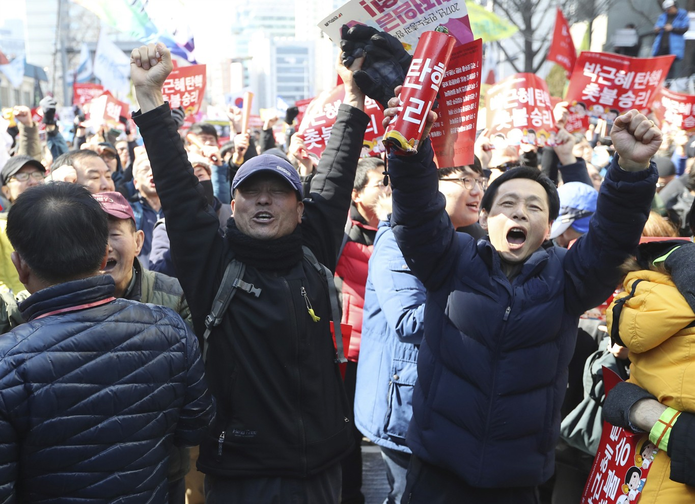 South Korea's president formally ousted by court - NEWS 1130