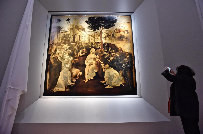 Leonardo masterpiece back on display following restoration