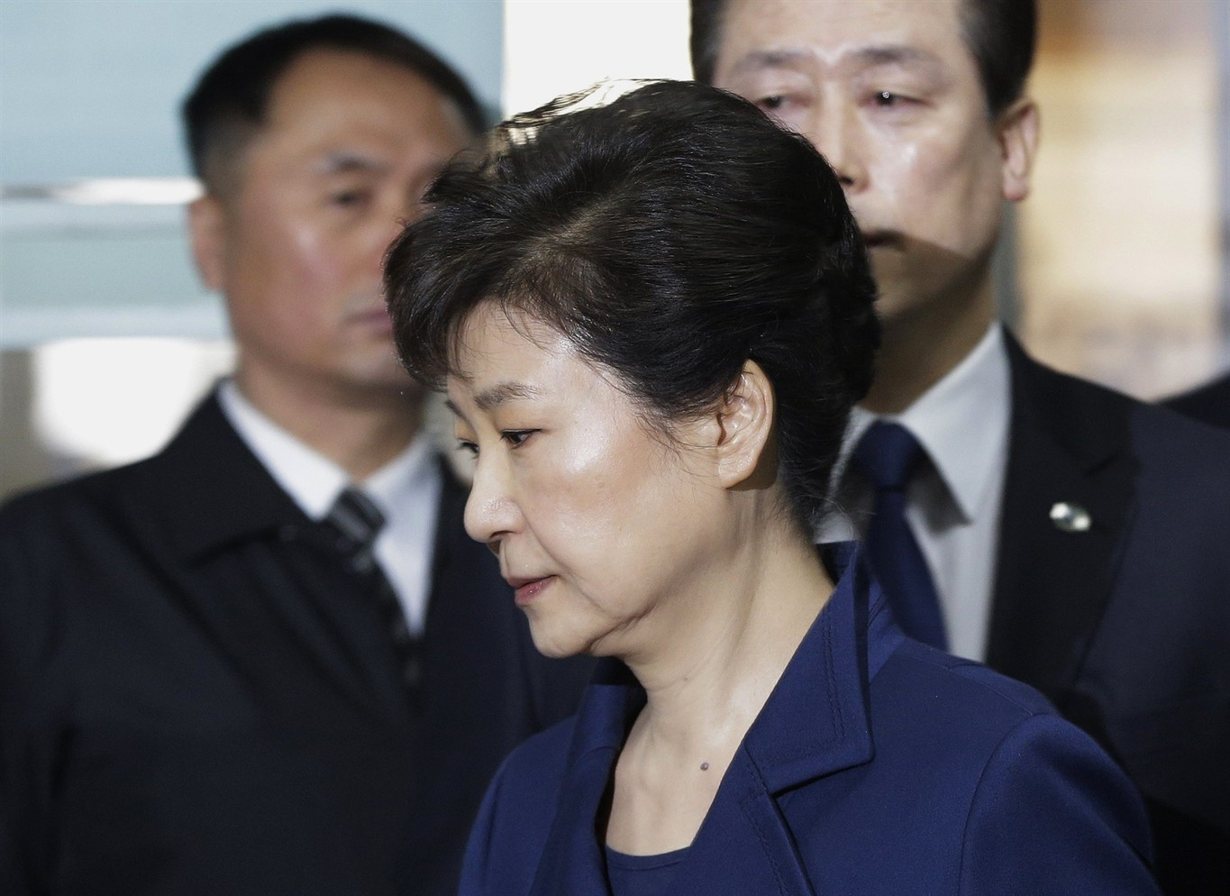 South Korea's Former President Park Charged in Corruption Probe