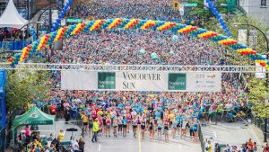 2017 Vancouver Sun Run @ Downtown Vancouver