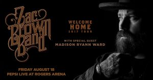 Zac Brown Band @ Rogers Arena | Vancouver | British Columbia | Canada