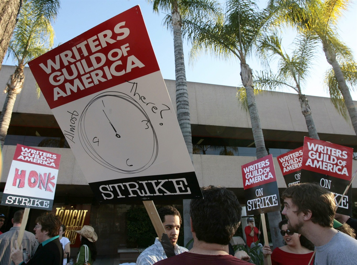 writers strike Hollywood may be looking at another writers strike nearly a decade after the last major one, as the writers guild of america east and west has voted to authorize a strike should a new deal not be.