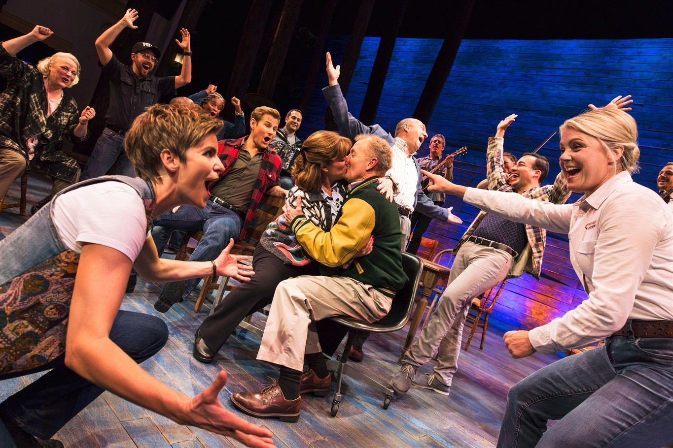 Top Drama Desk awards for 'Oslo,' 'Come From Away,' Bette Midler